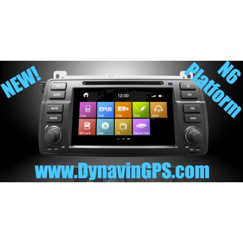 Dynavin N6 BMW E46 GPS Navigation Unit 1998-2006 3-Series N6-E46 *